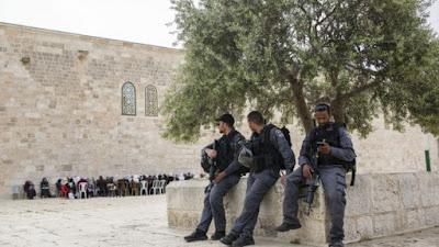 Pessach com forças medidas de segurança em Israel