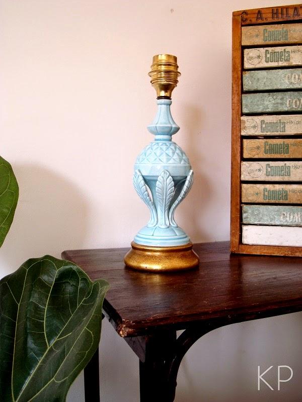 Decorar con lámparas de manises, AD, lámparas vintage valencia