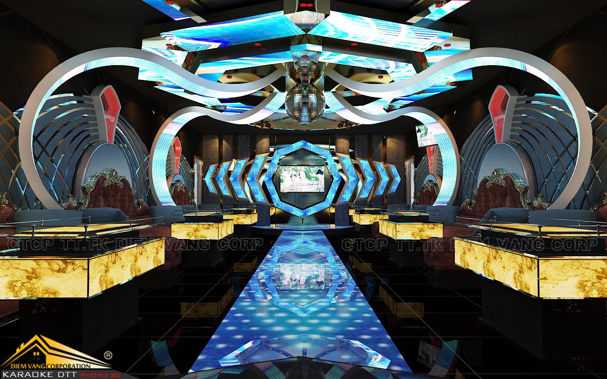 Thiết kế phòng karaoke 3D Ảnh Full chất lượng cao 30