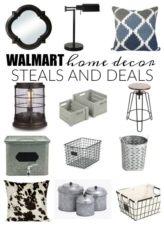 Home decor steals and deals from Walmart