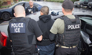 ICE Agents Enforces the Law