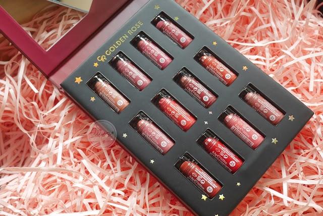 :: รีวิว Golden Rose Velvet Matte Mini My Wish 12 สี ราคา 349 บาท ::