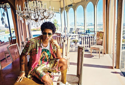 Bruno mars, Versace on the floor, sheet music, piano notes, chords, news, billboard, tour, single