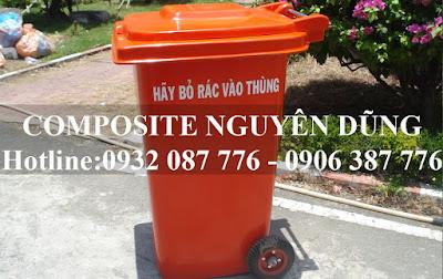 thùng rác công cộng loại 120l