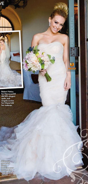 Mermaid Vera Wang Dress  Hilary Duff   Shakespearean love