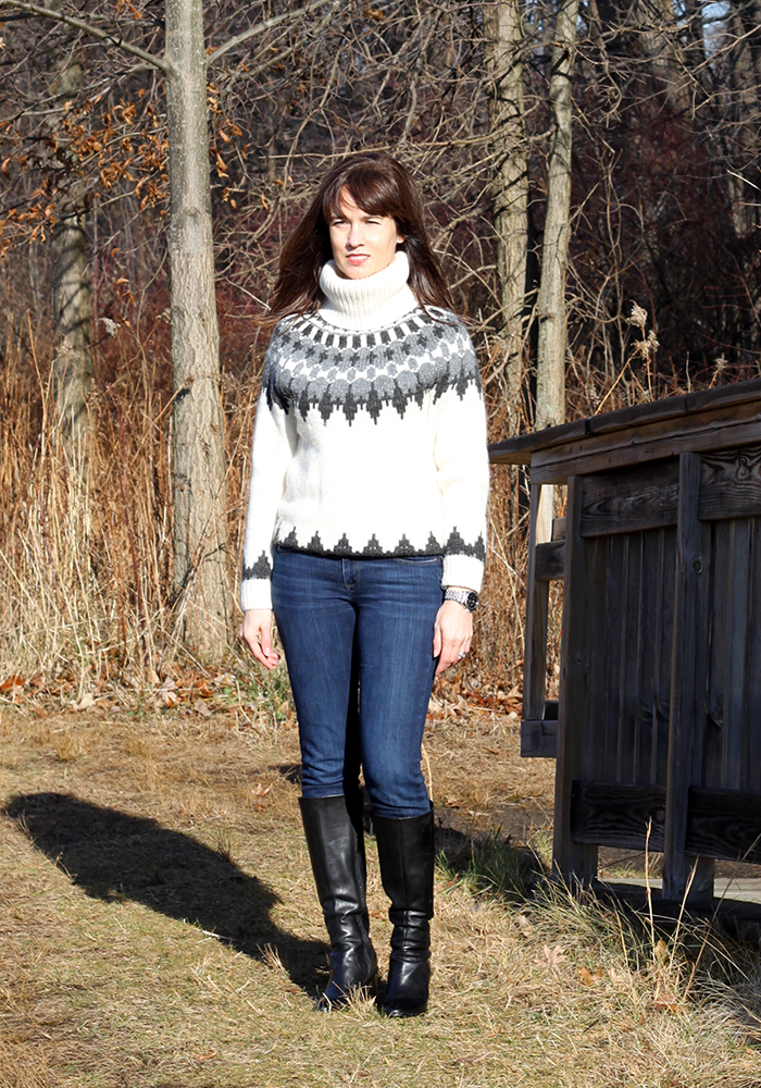 fair isle sweaters, gap, tall boots, what to wear winter