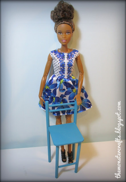 How to make a doll chair