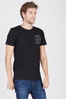 BerryBenka Men T-Shirt Doctor B Black ANDHIMIND
