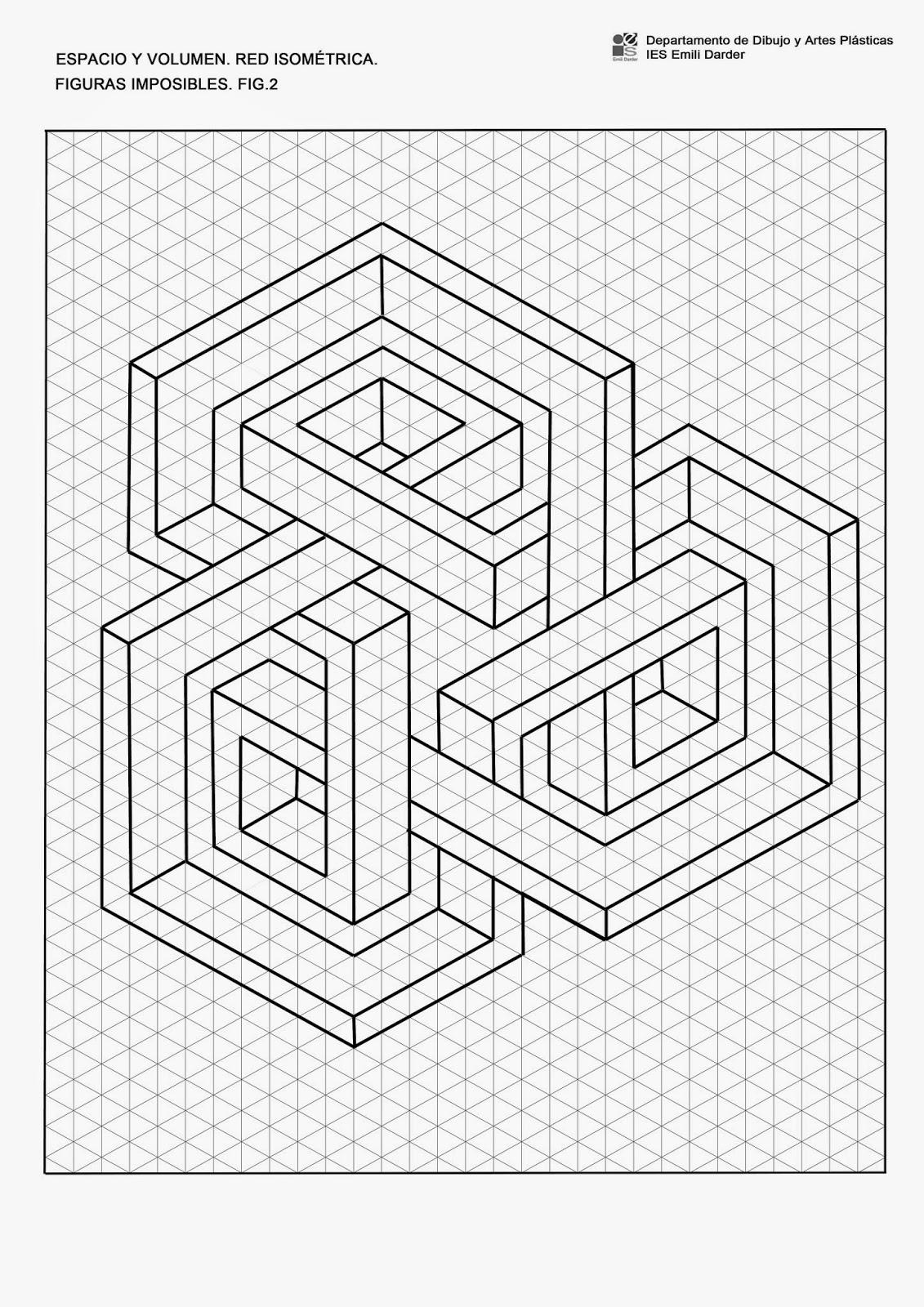 visual i pl u00e0stica 2n el castell  figures impossibles