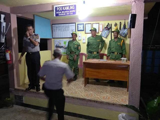 Desa Muara Baru Wakili OKI Lomba Poskamling