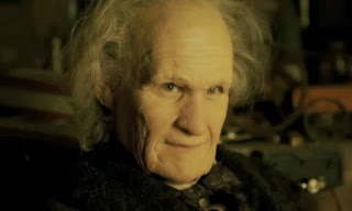 Matt Smith dons some old man makeup