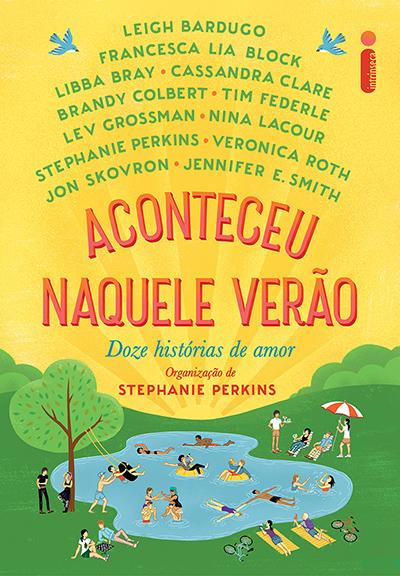 Capa do livro Aconteceu Naquele Verão