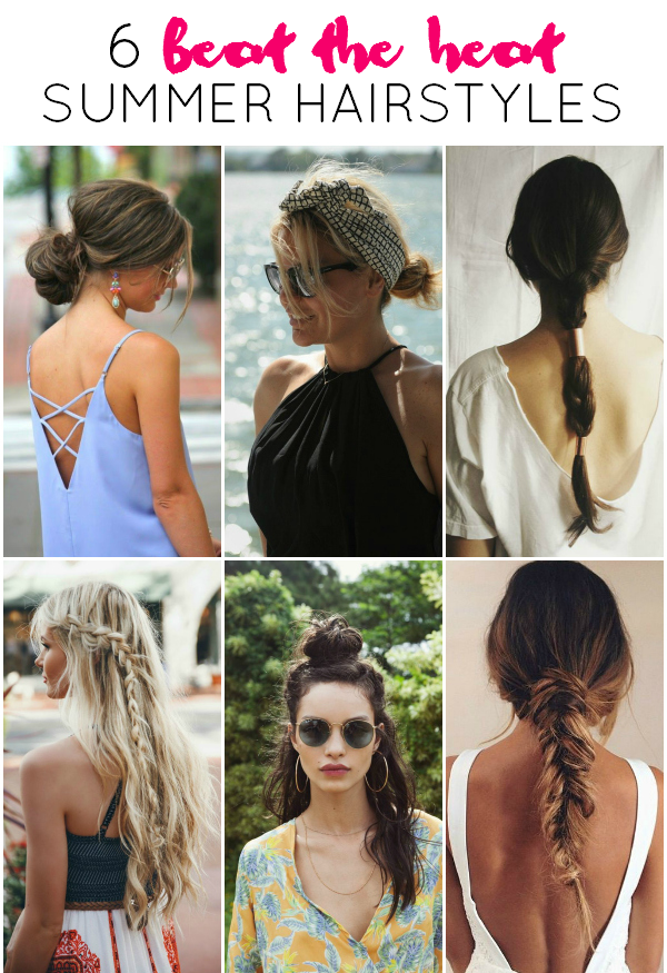 Fabulous La Petite Fashionista 6 Beat The Heat Summer Hairstyles Short Hairstyles Gunalazisus