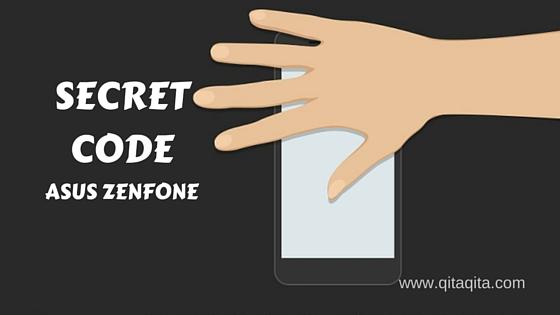 Kode fitur yang tersembunyi pada Asus Zenfone