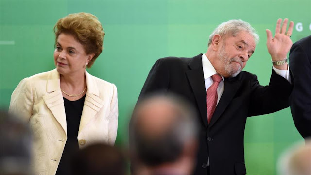 Rousseff: Cargos contra Lula buscan impedir su candidatura