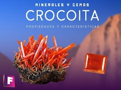 Crocoita - Propiedades y características fisicoquimicas
