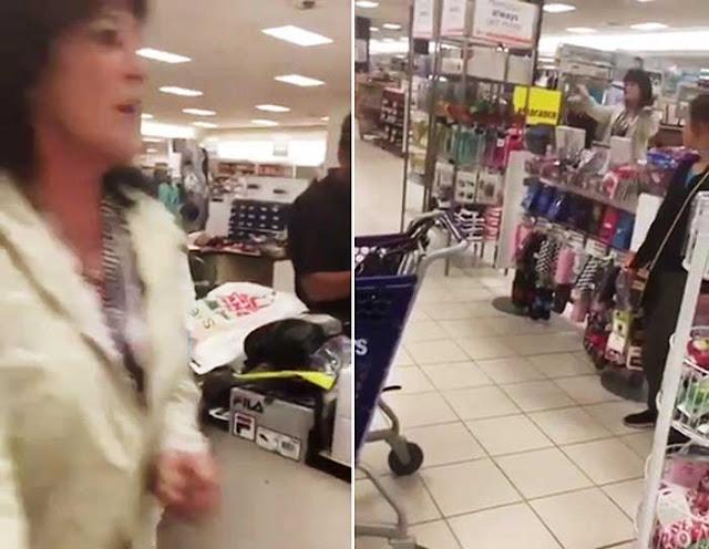 SEE IT: Woman throws racist tantrum inside Sears in New Brunswick, NJ WARNING: GRAPHIC LANGUAGE