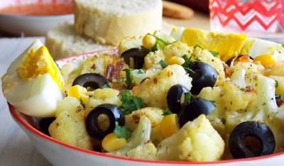 Salade-de-chou-fleur rôti
