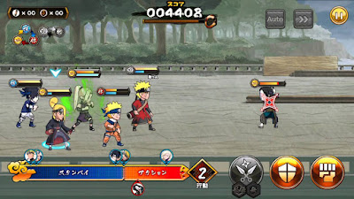 Naruto - Shinobi Collection Shippuranbu v 3.1.1 Apk Mod God Damage