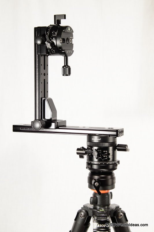 HDR Multi-Row Panorama head assembly