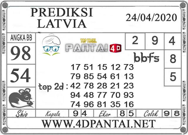 PREDIKSI TOGEL LATVIA PANTAI4D 24 APRIL 2020