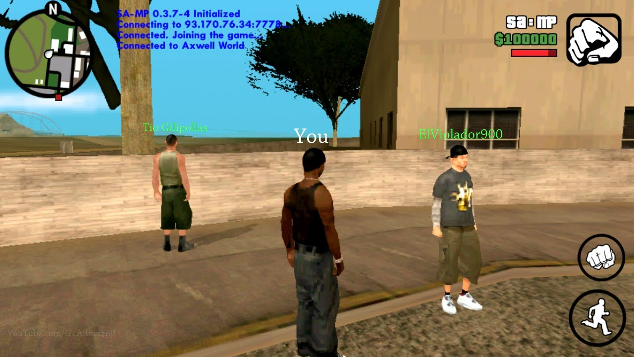 Download GTA SA Online (SAMP) For Android