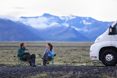 Renting a campervan or motorhome is a great option for camping in Iceland