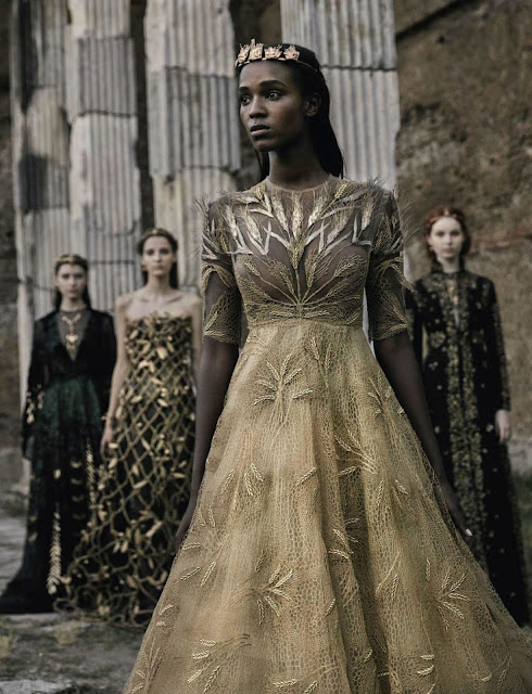 Valentino Haute-Couture Fall 2015 By Fabrizio Ferri for Vogue Italia