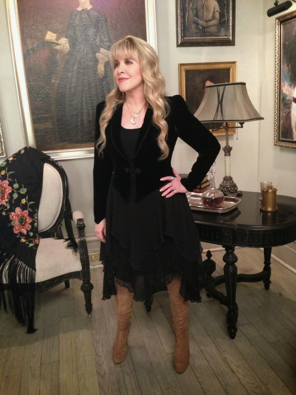 Fleetwood Mac News Stevie S In The House The Coven House Ahscoven Ahs Ahsfx