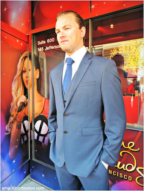 Leonardo Di Caprio en el Museo de Cera de San Francisco