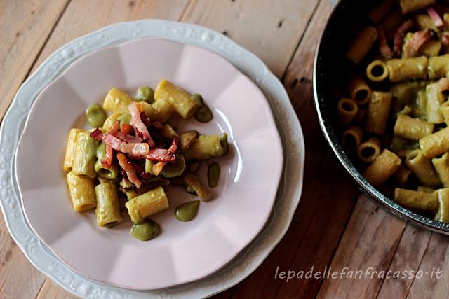 ricetta primo piatto con le fave