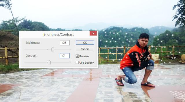 laman brightness/contrast