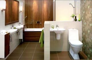 ديكورات وافكار للحمامات من حيث التصميم