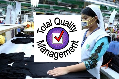 TQM in apparel industry
