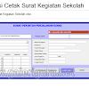 Cetak Surat Dengan Aplikasi Excel Untuk Kegiatan Sekolah