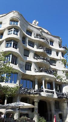 Casa Mila von Gaudi