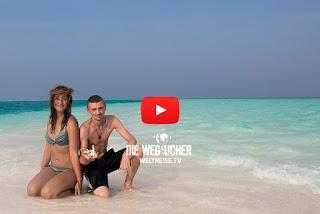 Paradies auf Erden, Madivaru Finolhu, Malediven, WELTREISE.TV Arkadijs Weltreise