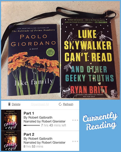 books and audiobooks reading October 25