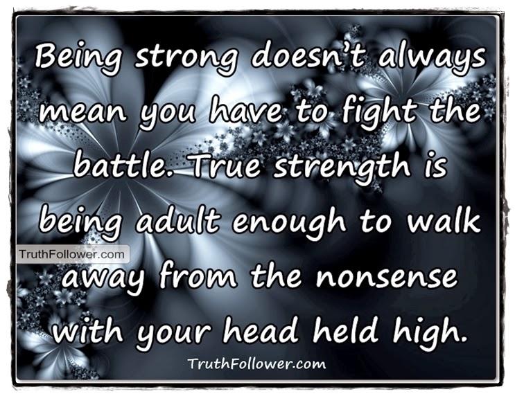 True Strength Quotes