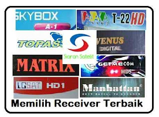 cara memilih receiver parabola tv satelit terbaik