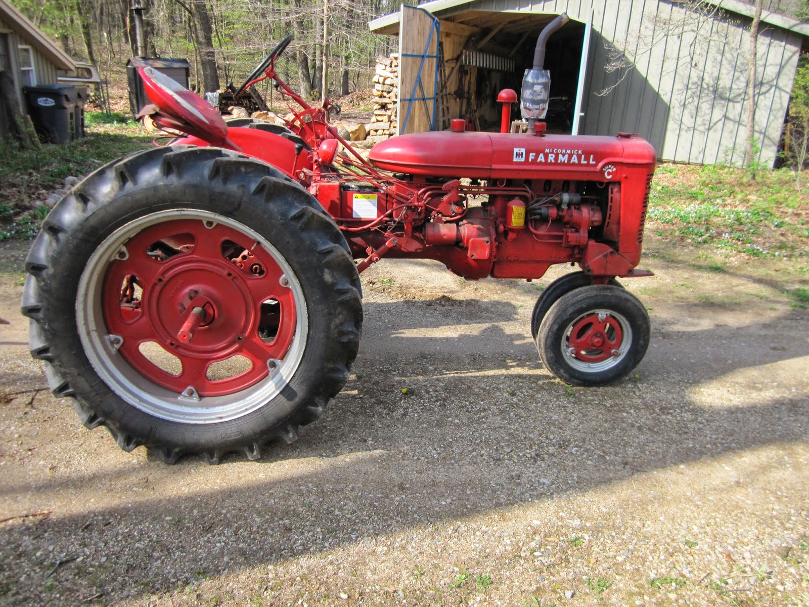 farmall super c implements - photo #28