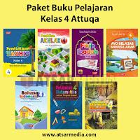 Paket Buku Pelajaran Kelas 4 Attuqa Untuk SD / MI
