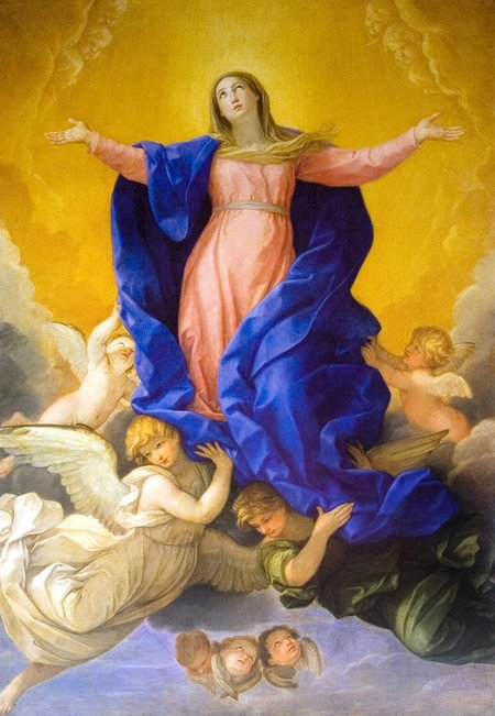 AUGUST 15 - THE SOLEMNITY OF THE ASSUMPTION OF THE BLESSED VIRGIN MARY