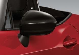 Fiat Spider Mirror Cover - Black