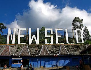 Jalur Pendakian Gunung Merapi - New Selo