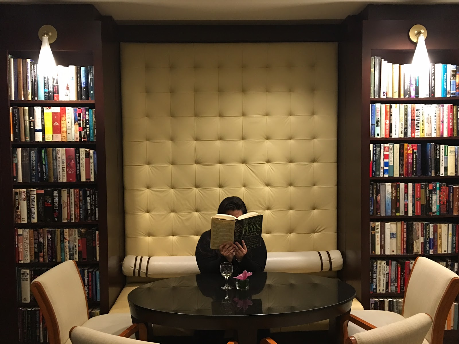 Library Hotel New York Reading Room