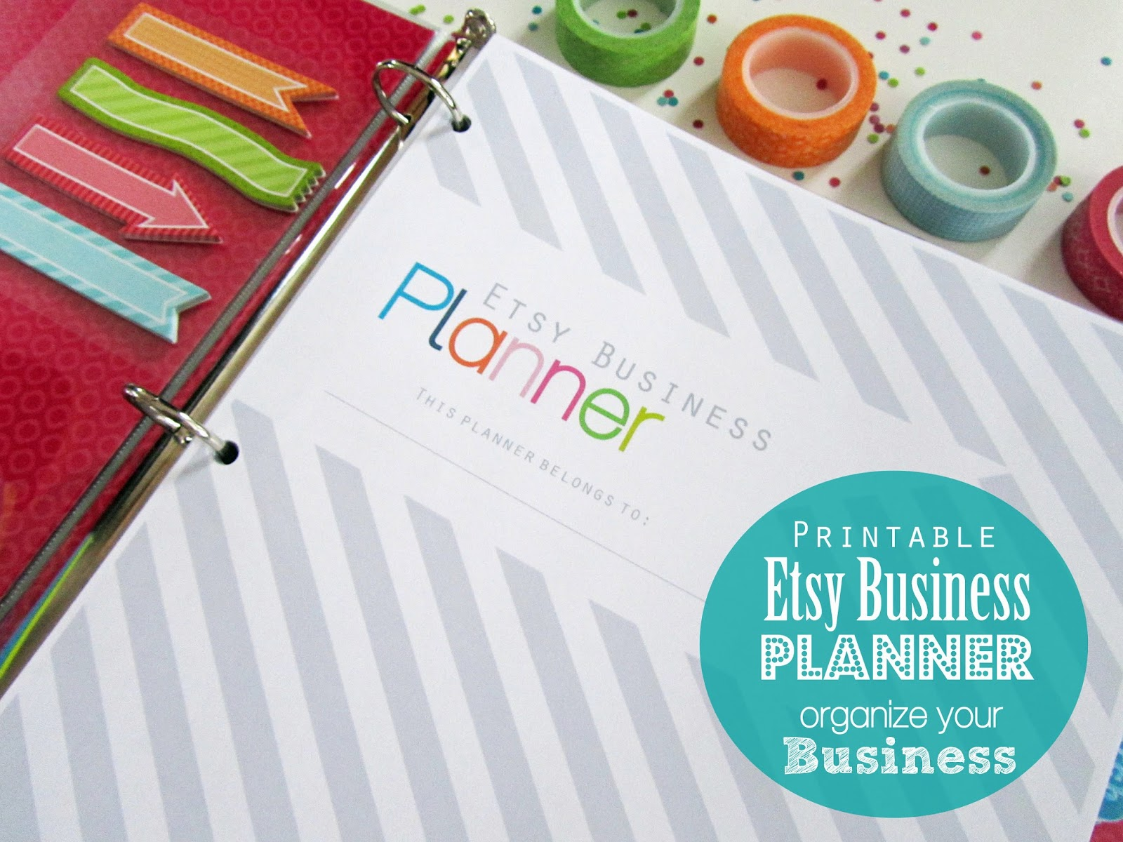 Clean Life And Home Printable Small Business Planner