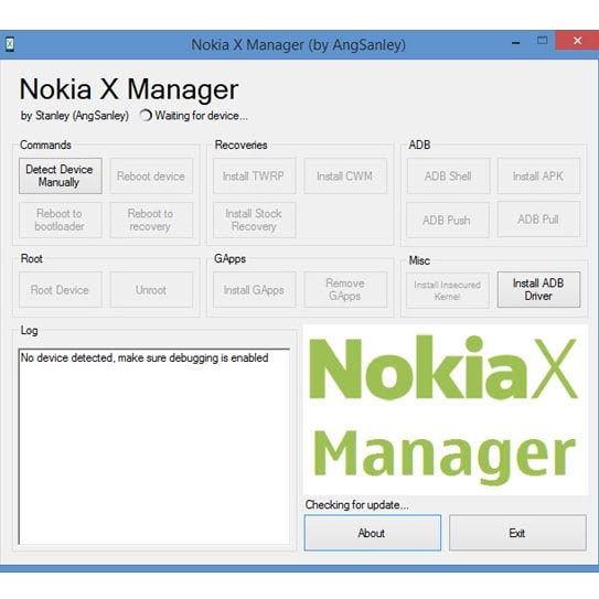 Download Nokia X Manager application