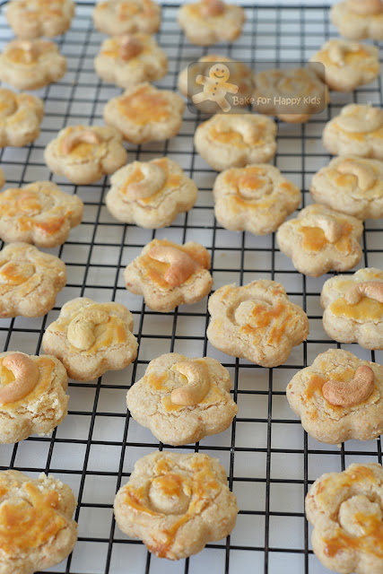 best melt in the mouth Chinese cashew cookies