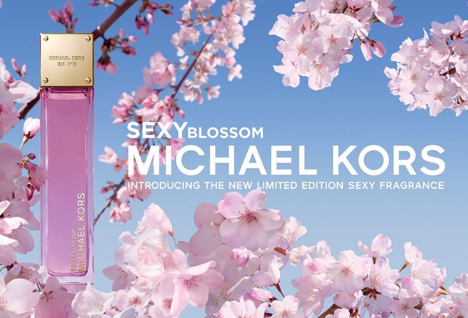 2e46a236fe550 Michael Kors Sexy Blossom - Nez de Luxe